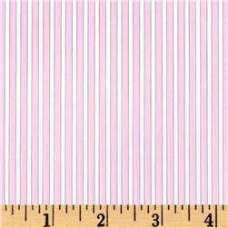 Career Shirting Stripes Light Pink