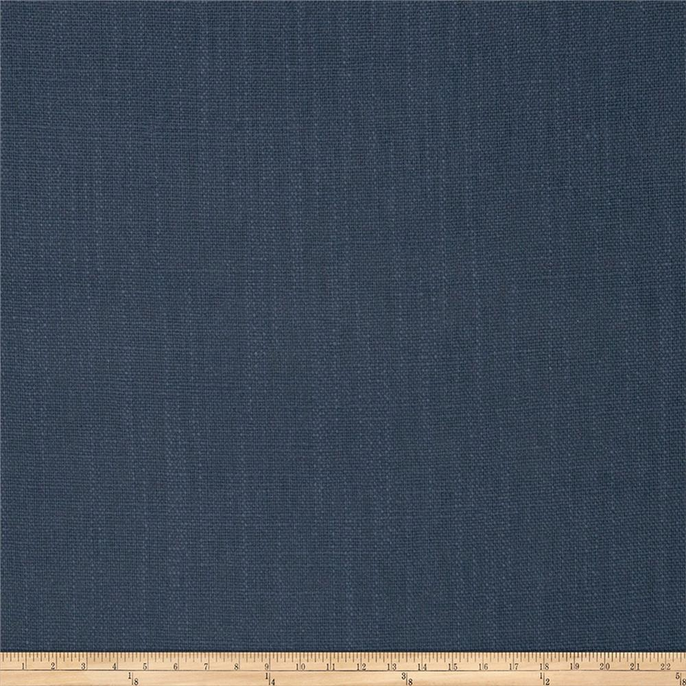 French General Cassis Linen Blend Indigo