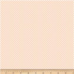 Back Porch Basics Dots Pink/Ivory