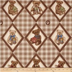 Boyds Bears Diamond Bear Patch Brown