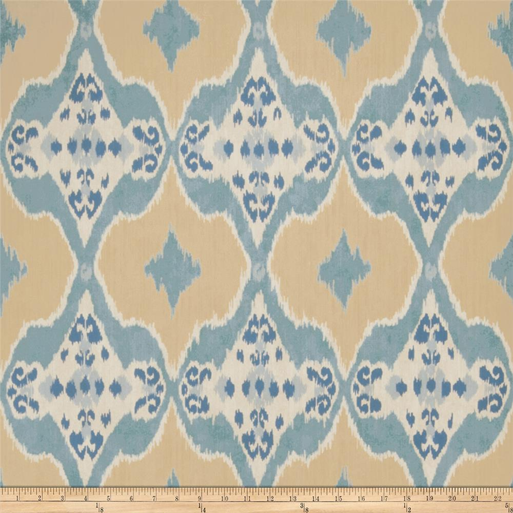Fabricut 50026w Nomad Wallpaper Teal 06 (Double Roll)