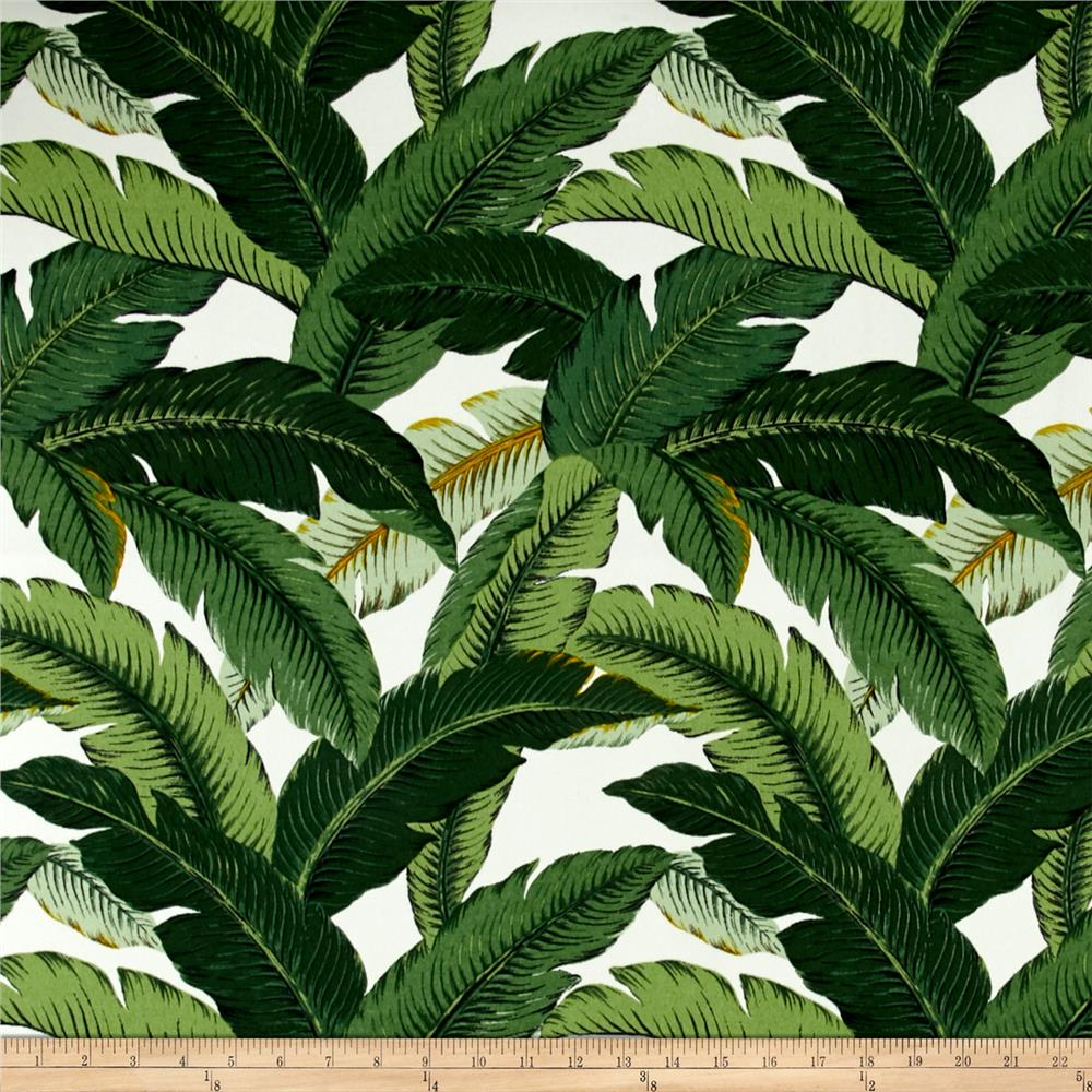 Discount outdoor fabric by the yard - Tommy Bahama Indoor Outdoor Island Hopping Emerald Discount Designer Fabric Fabric Com