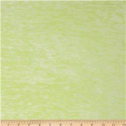 Designer Burnout Knit Abstract Chartreuse