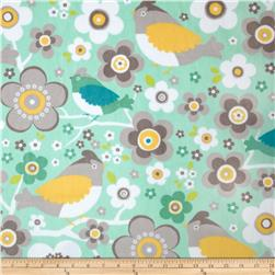 Adorn-it Minky Cuddle Daisy Bird Sunshine