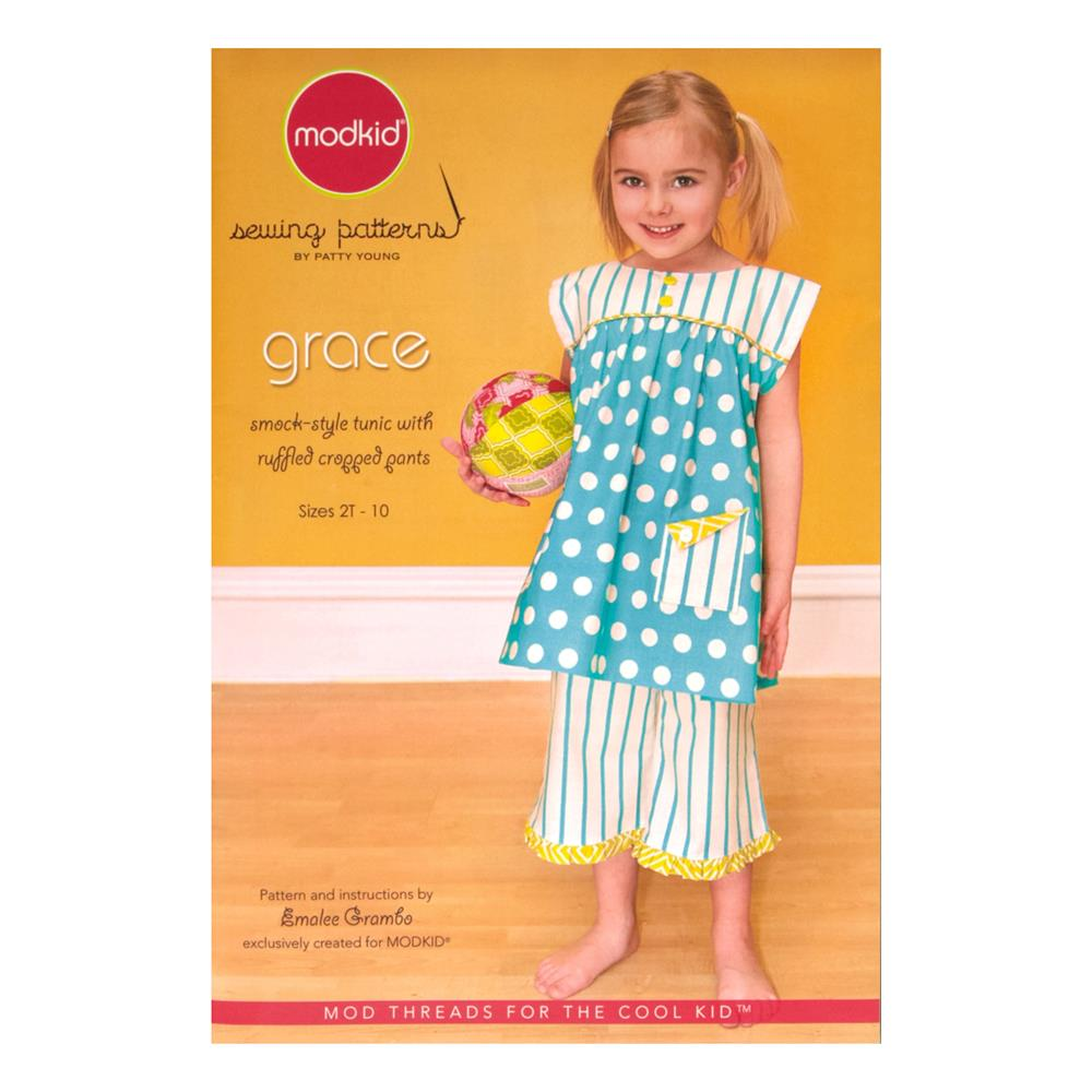 Modkid Grace Tunic and Pants Sewing Pattern
