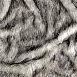 Shannon Norwegian Faux Fox Fur Steel