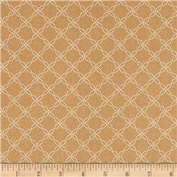 Maywood Studio Kimberbell Basics Lattice Brown