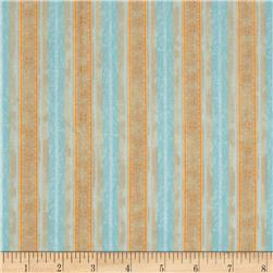Delicate Romance Stripe Blue Tan