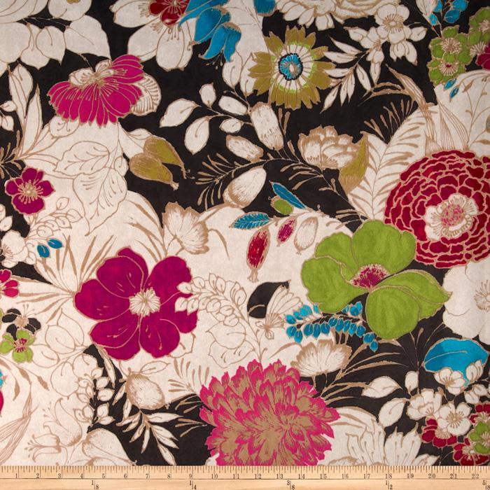 Regal Cisco Floral Microfiber Teak
