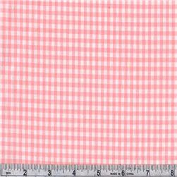 Woven 1/8'' Cotton Gingham Candy Pink