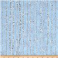 Winter Moons Birch Trees Med Blue