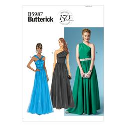 Butterick Misses' Dress Pattern B5987 Size B50
