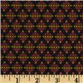 Robert Allen Promo Linkage Jacquard Black Cherry
