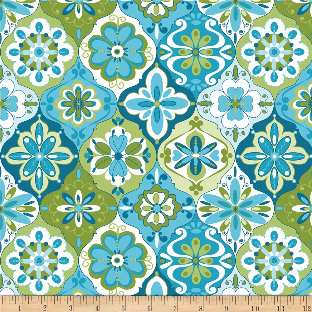 Riley Blake Splendor Ceramic Blue