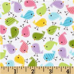 Robert Kaufman Urban Zoology Mini Birds Spring