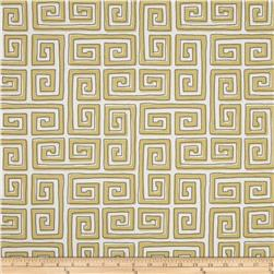 Robert Allen Indoor/Outdoor Baja Keys Yellow Fabric
