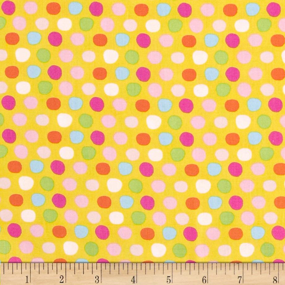 Tiddlywinks Dots Yellow