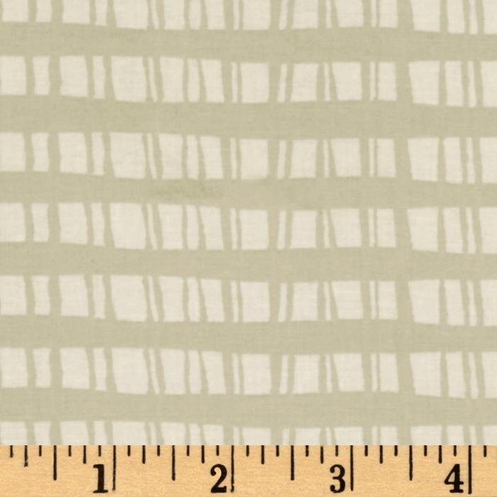 Festive Forest Fence Plaid Cream