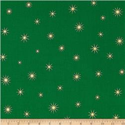 Shining Star Glitter Gold/Green