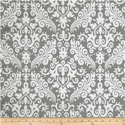 Riley Blake Large Damask Grey