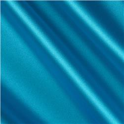Debutante Stretch Satin Fabric Turquoise