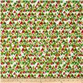 Premier Prints Holiday Acute Chartreuse/Lipstick