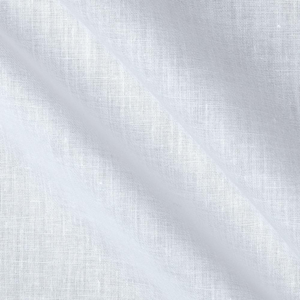Sheer Mist White Fabric By The Yard