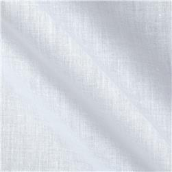 Cotton Blend Voile White