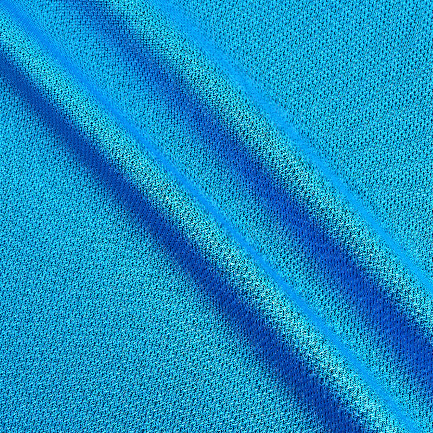 Athletic Mesh Knit Turquoise Fabric 0269433