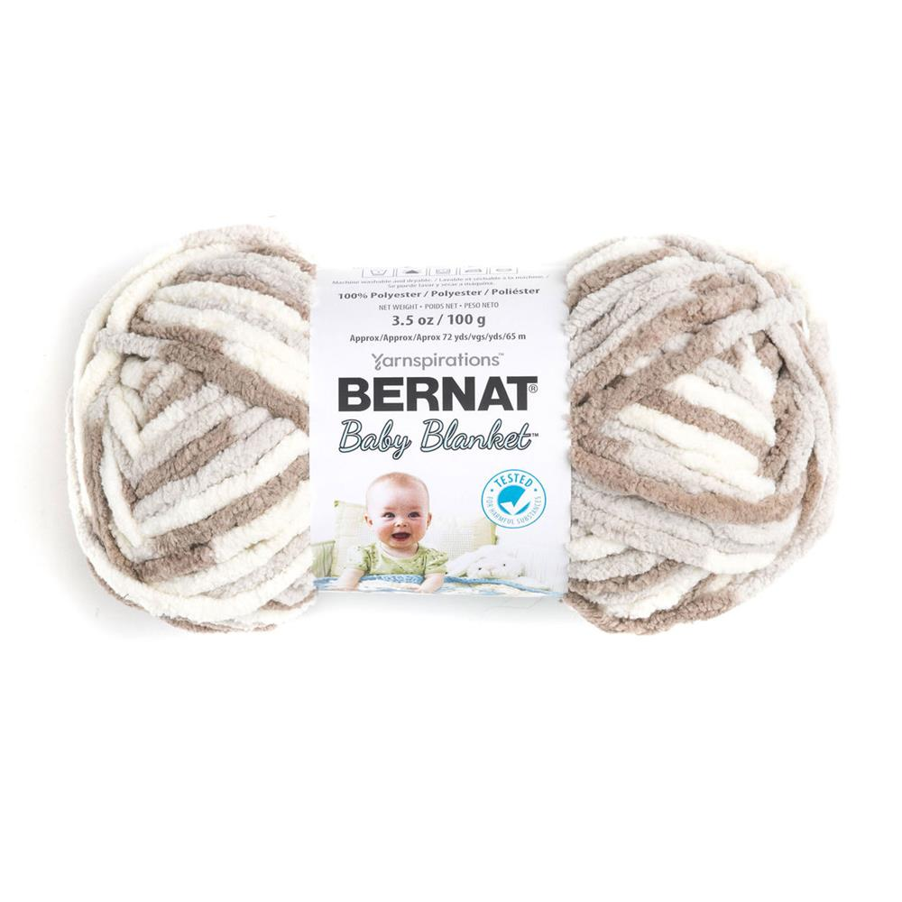 c3dec6c3a25 Bernat Baby Blanket Yarn (03011) Little Sand Castles - Discount ...