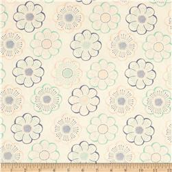 Fabric Freedom Blossom Floating Flower Blue