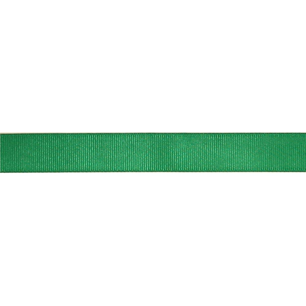"May Arts 3/4"" Grosgrain Ribbon Spool Green"