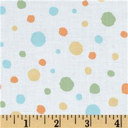 Critter Patch Organic Dots White