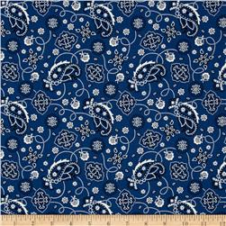 Cattle Drive Bandana Blue