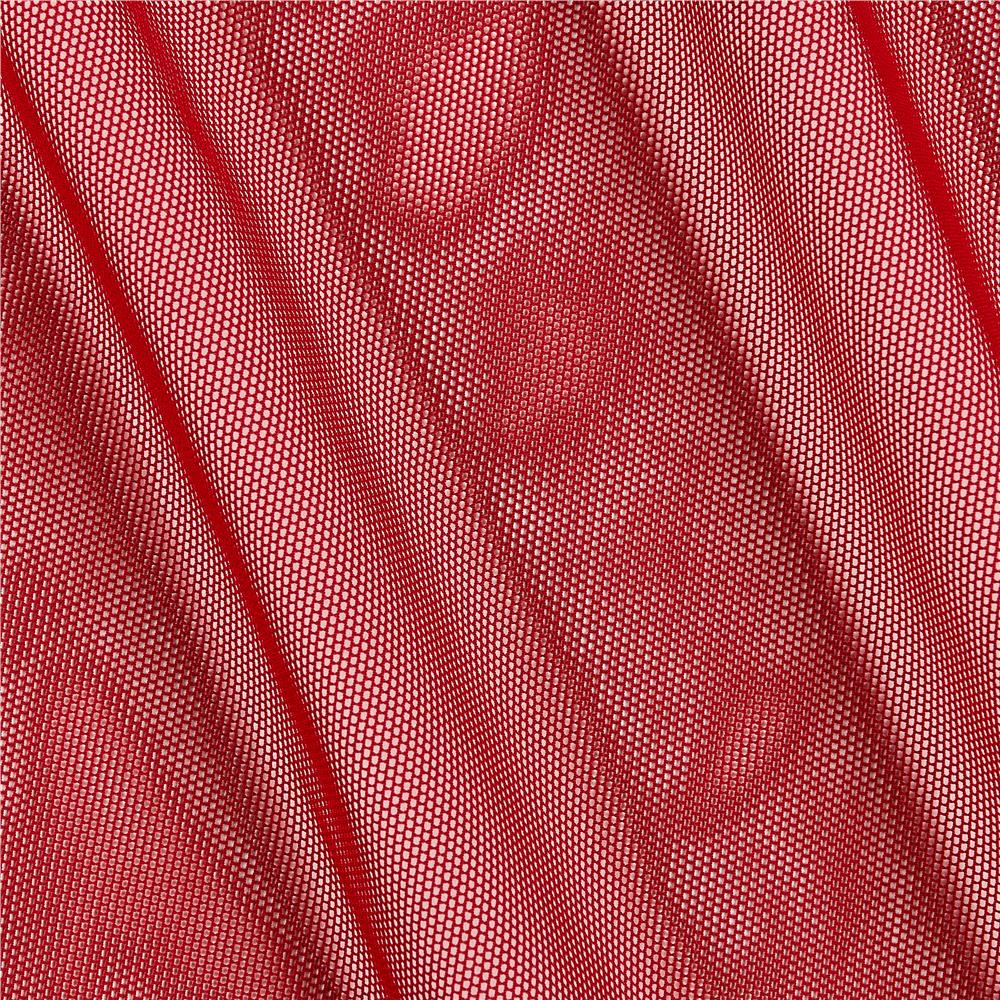 Telio Stretch Nylon Mesh Knit Scarlett