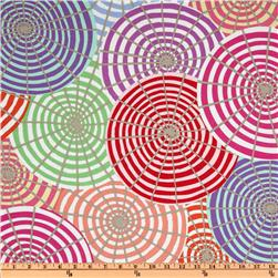 Kaffe Fassett Prints Collection Parasols Cream