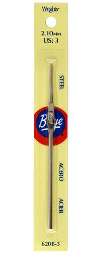 Boye Steel Crochet Hook 5'' Size 3
