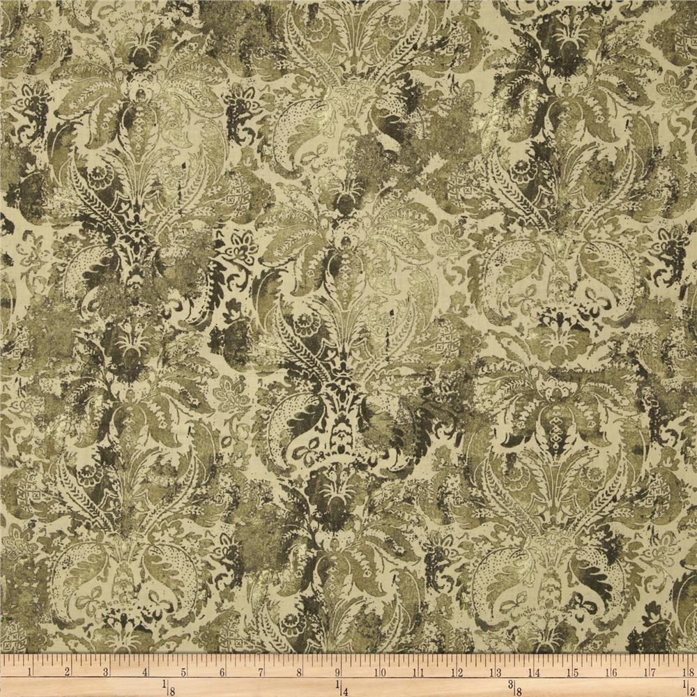 Contempo Hand Made Damask Celadon