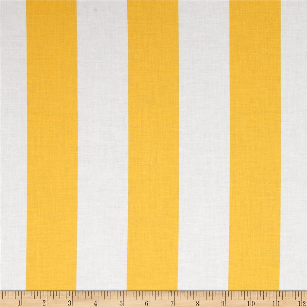 "Riley Blake 2"" Stripe Yellow"