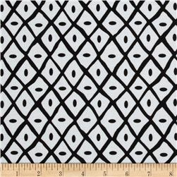 Quiltologie Dotted Lattice Black