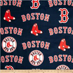 MLB Fleece Boston Red Sox Toss White/Red/Blue