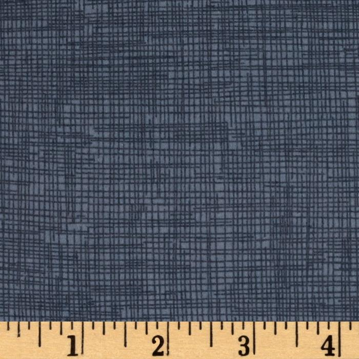 Timeless Treasures Sketch Flannel Smoke