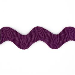 1'' Ric Rac Polyester Large Trim Purple