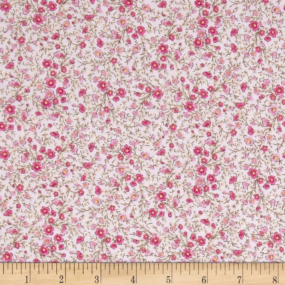 Timeless Treasures Soleil Mini Buds Pink
