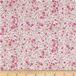 Timeless Treasures Soleil Mini Buds Pink Fabric
