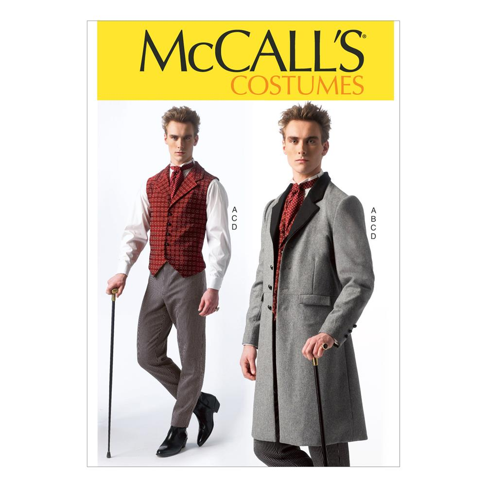 McCall's Men's Costumes Pattern M7003 Size MEN