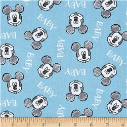 Disney Mickey Nursery Oh Boy! Mickey Toss Blue