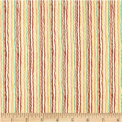 Ric Rac Stripe Folk Bright