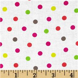 Bright Now Do the Polka Multi Fabric