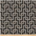 Fabricut Clarity Interlock Jacquard Graphite